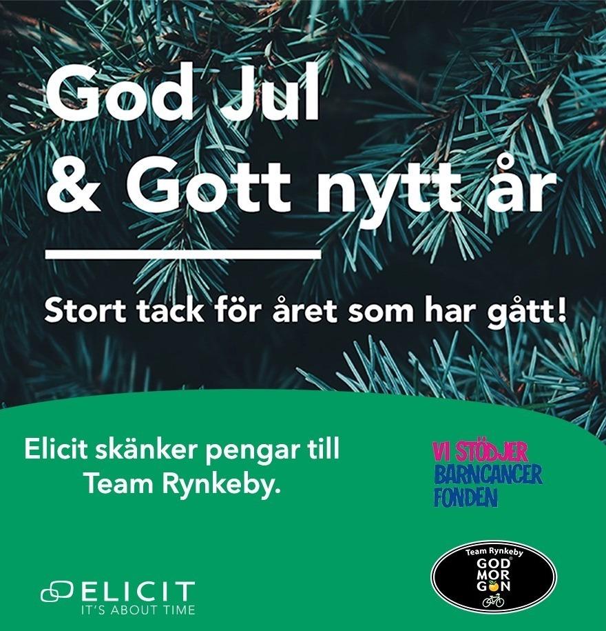 Elicits-julgåva-går-till
